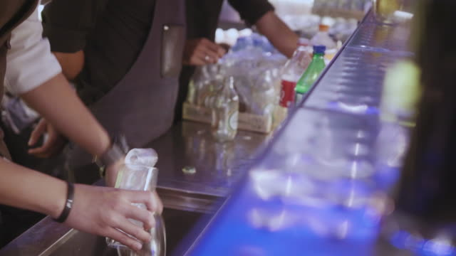 real bar - bartender stock videos and b-roll footage