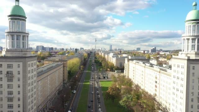 real estate in berlin friedrichshain - berlin stock videos & royalty-free footage