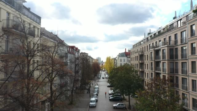 real estate in berlin prenzlauer berg - housing difficulties stock videos & royalty-free footage