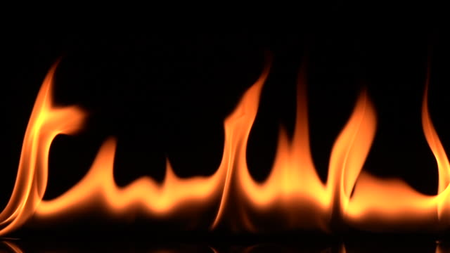 real fire flame in super slow motion - open fire stock videos & royalty-free footage