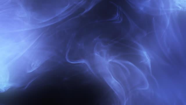 stockvideo's en b-roll-footage met real incense. blue color light - minder dan 10 seconden