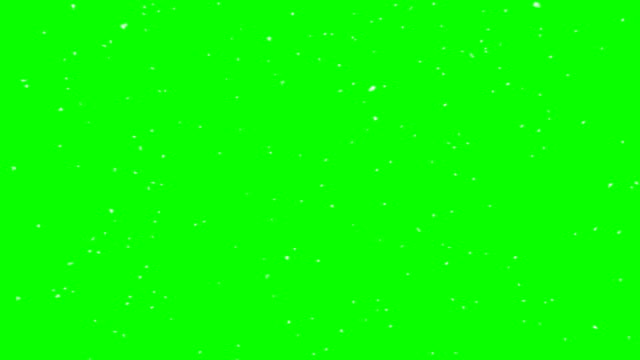 4k real look snow animation green box overlay endless loop - composite image stock videos & royalty-free footage
