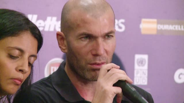 Real Madrids new coach Carlo Ancelotti names former French international star Zinedine Zidane as one of his deputies CLEAN Ancelotti names Zidane as...