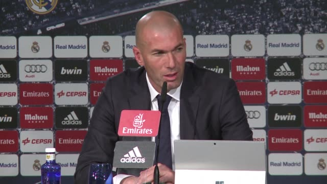 Real Madrids new coach Zinedine Zidane says he is ready for the challenges that lie ahead in his new role and has his sights firmly set on the team...