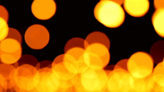 lr real panning candle bokeh blurred light abstract background - mack2happy stock videos and b-roll footage