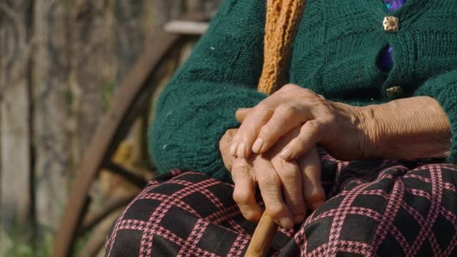 real people senior woman rural scene - 70 79 years stock videos and b-roll footage