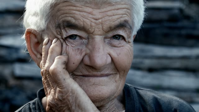 real people - only senior women stock videos & royalty-free footage