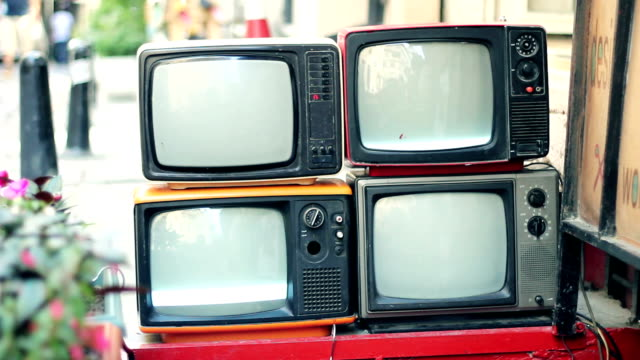 Real Retro TV with static HD