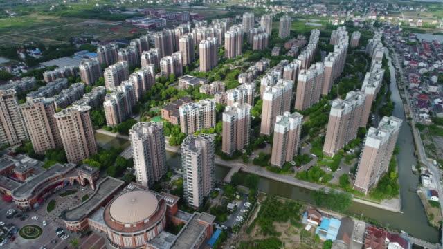 住宅街の空撮をリアルタイムします。 - 昆虫点の映像素材/bロール