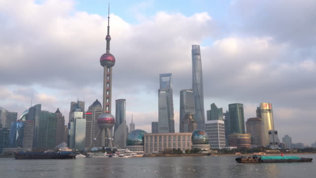 Real Time Shanghai Skyline / Shanghai, China