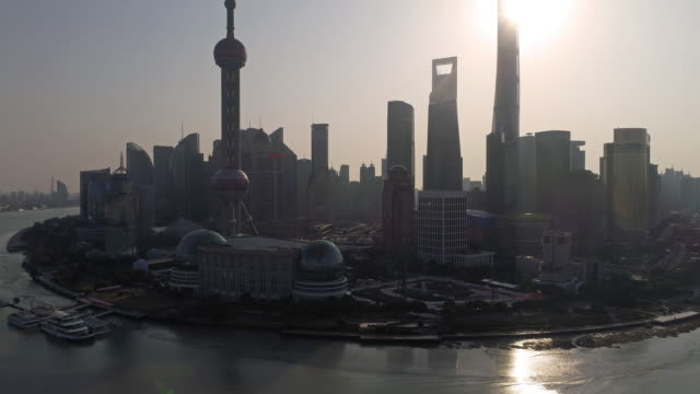 Real time Shanghai Skyline