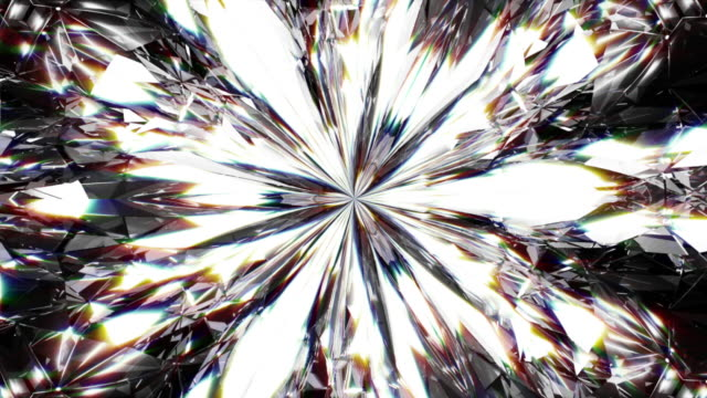 realistic diamond close up texture, background of jewelry gemstone. - stone object stock videos & royalty-free footage