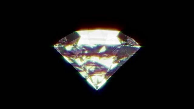 realistic diamond close up texture, background of jewelry gemstone. - rau stock-videos und b-roll-filmmaterial