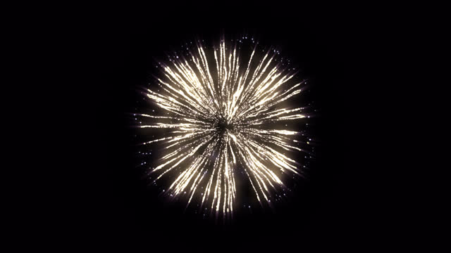 realistic festive firework, alpha channel, loopable (series) - firework display stock videos & royalty-free footage