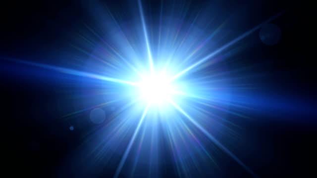 現実的なレンズ フレア星光と輝きの要素。