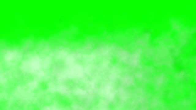 realistic smoke clouds fog green box - wispy stock videos and b-roll footage