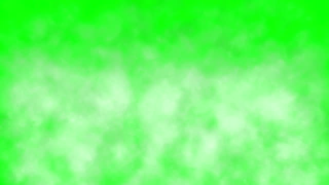 realistic smoke clouds fog green box - condensation stock videos & royalty-free footage