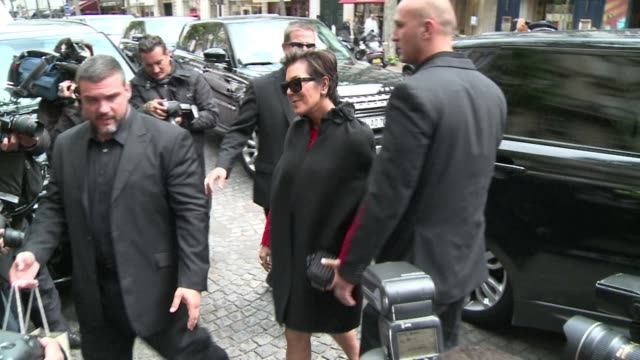 reality television star kim kardashian and american rapper kanye west are in paris ahead of their wedding - reality tv stock videos & royalty-free footage