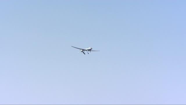 UK 'Reaper' military drones T07061022 / TX Arizona EXT Drone in flight