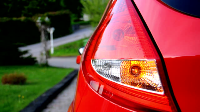 rear car light - lock and unlock - last day stock videos & royalty-free footage