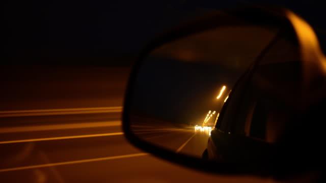 rear mirror pov - rear view mirror stock videos and b-roll footage