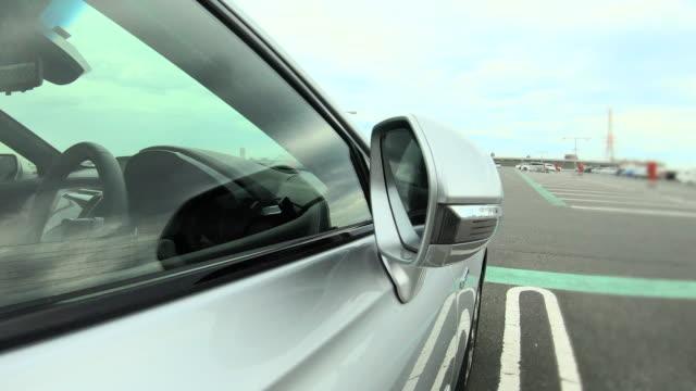 バックミラー - 駐車点の映像素材/bロール