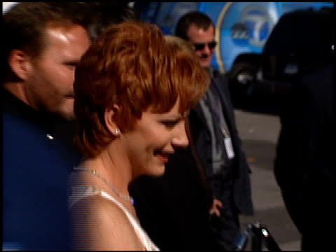 reba mcentire at the 1999 academy of country music awards at universal studios in universal city california on may 5 1999 - academy of country music awards stock videos & royalty-free footage