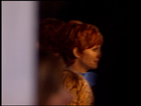 reba mcentire at the 2002 people's choice awards at pasadena civic auditorium in pasadena california on january 13 2002 - pasadena civic auditorium stock videos & royalty-free footage