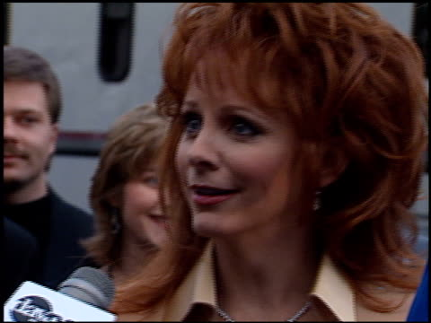 reba mcentire at the american music awards at the shrine auditorium in los angeles, california on january 29, 1996. - 1996 stock videos & royalty-free footage