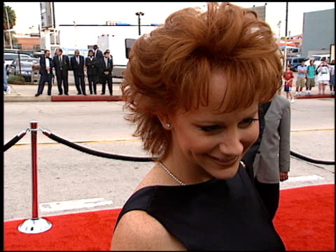 Reba McEntire at the Blockbuster Awards at Hollywood Pantages Theater in Hollywood California on March 11 1997