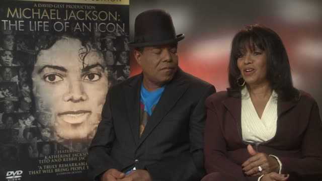 Rebbie Jackson on why she took part in the movie Michael Jackson The Life of an Icon Interviews at Langham Hotel on November 01 2011 in London England