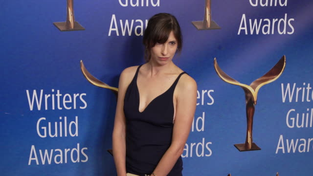 rebecca addelman at the 2020 writers guild awards at the beverly hilton hotel on february 01, 2020 in beverly hills, california. - the beverly hilton hotel stock videos & royalty-free footage