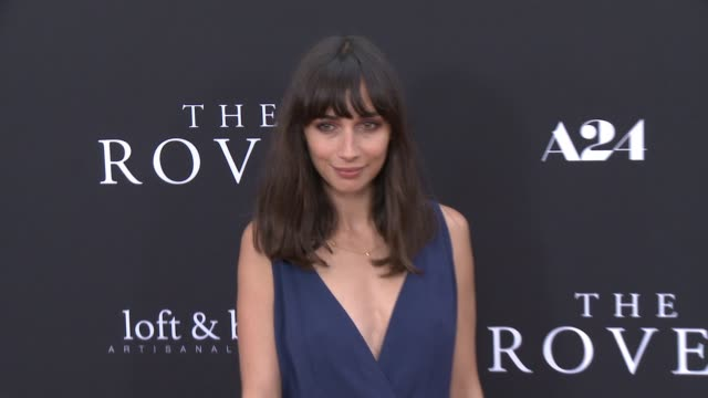 rebecca dayan at the rover los angeles premiere at regency bruin theatre on june 12 2014 in los angeles california - regency style stock videos and b-roll footage