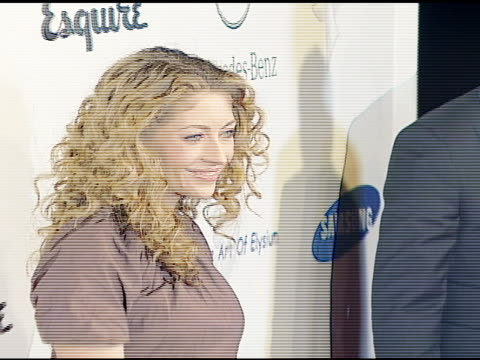 rebecca gayheart at the esquire magazine unveiling of the 'esquire house 360 degrees' with an opening night celebration to benefit 'the art of... - esquire magazine stock videos & royalty-free footage