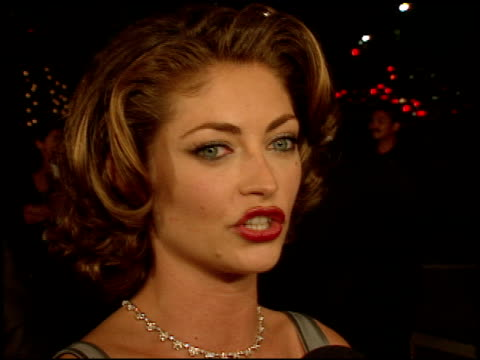 Rebecca Gayheart at the 'Urban Legend' Premiere at the Mann Village Theatre in Westwood California on September 17 1998