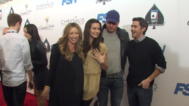 Rebecca Gayheart Odette YustmanEric Dane Dave Annable at the 8th Annual WPT Invitational at City of Commerce CA