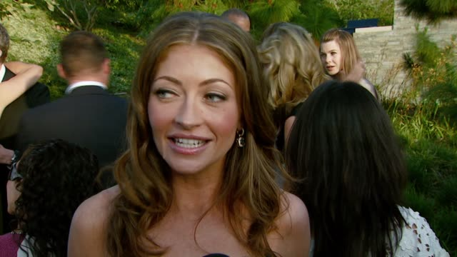 rebecca gayheart on being involved for so many years with chrysalis and getting many other celebrities and friends involved at the chrysalis... - chrysalis butterfly ball video stock e b–roll