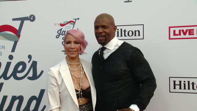 Rebecca KingCrews Terry Crews at Steven Tyler's 2nd Annual GRAMMY Awards Viewing Party to Benefit Janie's Fund in Los Angeles CA