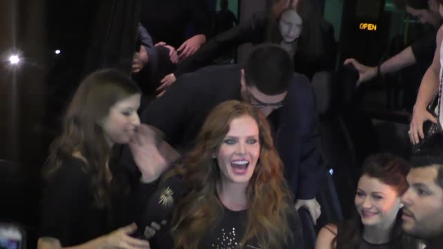 Rebecca Mader Emilie de Ravin greet fans at Comic Con in San Diego in Celebrity Sightings at Comic Con