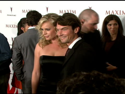 Rebecca Romijn and Jerry O'Connell at the Maxim's 8th Annual Hot 100 Party at Ono at The Gansevoort Hotel in New York New York on May 16 2007