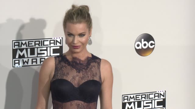 rebecca romijn at 2016 american music awards at microsoft theater on november 20 2016 in los angeles california - american music awards stock videos and b-roll footage