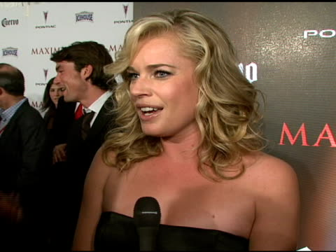 Rebecca Romijn on how it feels to make the Hot List especially since she has been working with Maxim for 10 yeas how she would describe the magazine...
