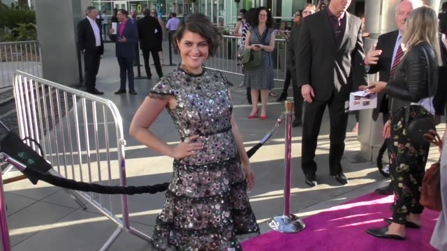 rebekka johnson at a netflix original series glow los angeles premiere at arclight cinemas cinerama dome on june 21 2017 in hollywood california - cinerama dome hollywood stock videos & royalty-free footage