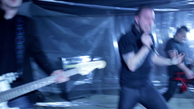 rebel in music - punk music stock videos and b-roll footage