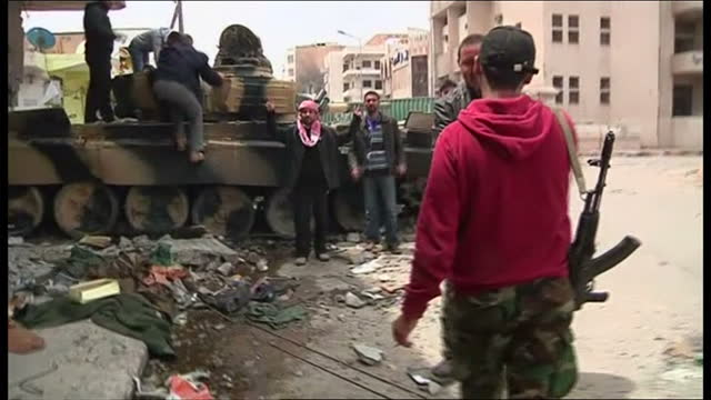 Rebel leaders say they have driven out progovernment forces from the besieged city of Misratah but the cost in casualties has been heavy As they fled...