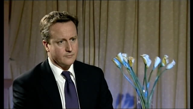 british evacuation debacle david cameron interview oman int david cameron mp interview sot incredibly frustrating for people stuck at tripoli airport... - flight case stock videos and b-roll footage