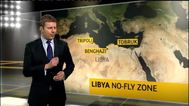 colonel gaddafi announces ceasefire as un resolution on libya announced england london int general lord dannatt interview sot arab and muslim nations... - ギールフォーレスト国立公園点の映像素材/bロール