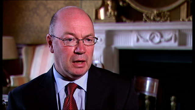 stockvideo's en b-roll-footage met nato action intensifies int alistair burt mp interview sot it is true we're looking for more targets there is an intensification of pressure we want... - startvlag