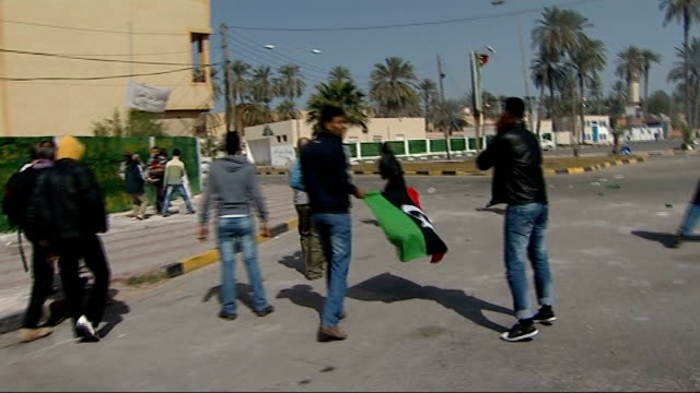 Oil Refinery Tunisia Border Mosque Demonstrators clashing Hospital Bomb damaged areas Clash between government forces and antiGaddafi demonstraters...