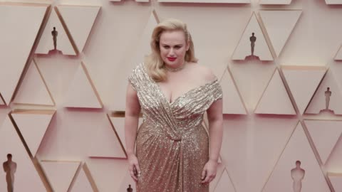 rebel wilson at the 92nd annual academy awards at dolby theatre on february 09, 2020 in hollywood, california. - academy of motion picture arts and sciences stock videos & royalty-free footage